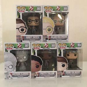 Ghost Busters Funko Pop! Figure bundle of 5